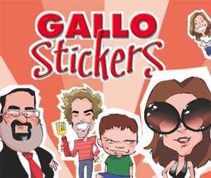 Gallo Stickers