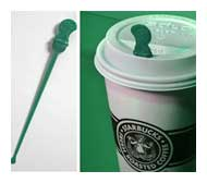 Splash sticks Starbucks