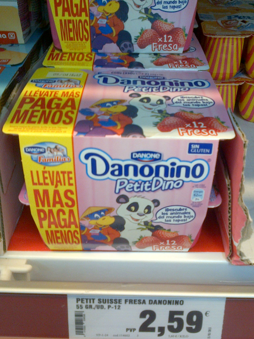 Danone prepara un cambio para Danonino ¿Qué marca prefieres Petitdino o Petit Suisse?