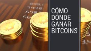 Cómo y dónde ganar bitcoins y otras criptomonedas en 2.018